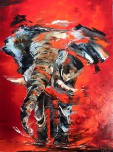 éléphant-rouge
