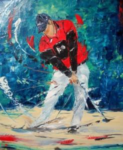 Golfeur-Red
