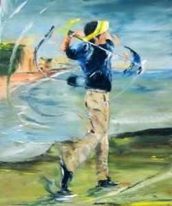 golfeur-falaise